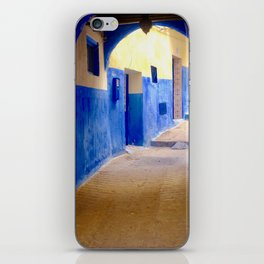 Tangier Morocco Medina iPhone Skin
