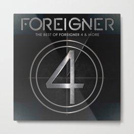 foreigner tour 2017 ty1 Metal Print