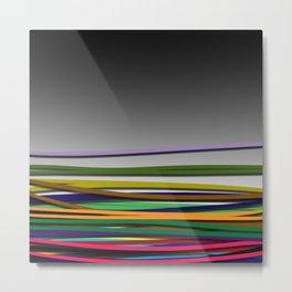 rubberbands Metal Print