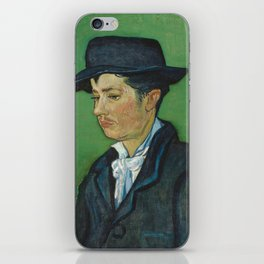 Portrait of Armand Roulin by Vincent van Gogh iPhone Skin