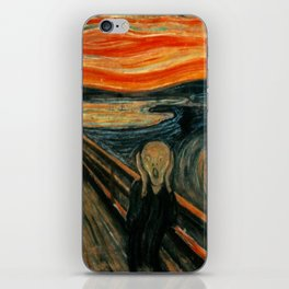 The Scream - Edvard Munch iPhone Skin