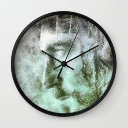 Jesús con la corona de espinas Wall Clock