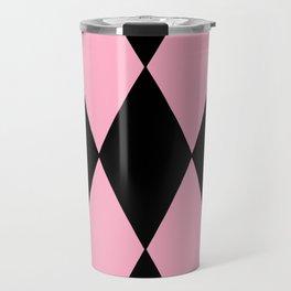 Pink Diamond Design Travel Mug