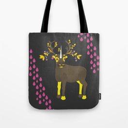 Reindeer Unicorn Tote Bag