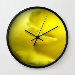 Daffadil Frill Wall Clock