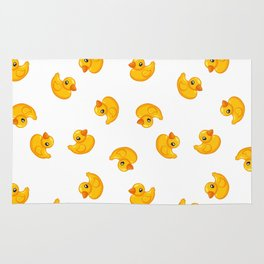 Rubber duck toy Rug