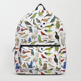 Endangered Birds Around the World Backpack
