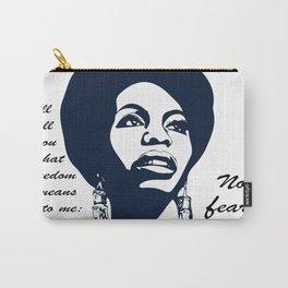Nina Simone No Fear Carry-All Pouch