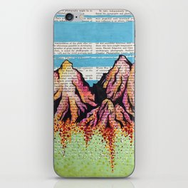 Dreamy Mountains iPhone Skin