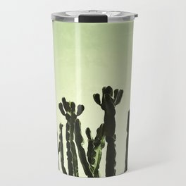 Wild Cactus Green Travel Mug