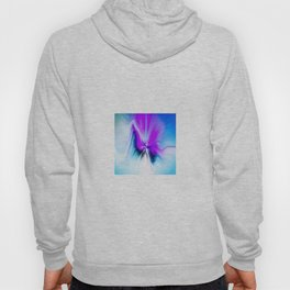 Abstract Moving Butterfly Design Hoody