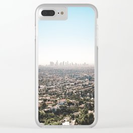View of the Angels Clear iPhone Case