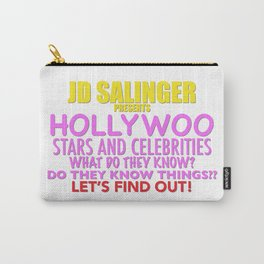 Hollywoo Stars and Celebrities Carry-All Pouch