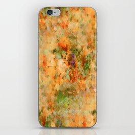 Orange Fall iPhone Skin