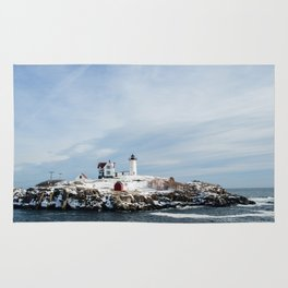 Nubble Lighthouse Maine Rug
