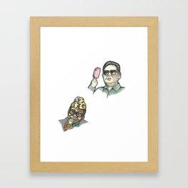 Vices 1/10 Framed Art Print