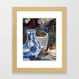 Vase Still Life Framed Art Print