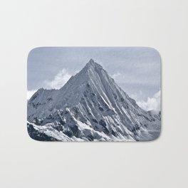 Nevado Piramide Mountain Bath Mat
