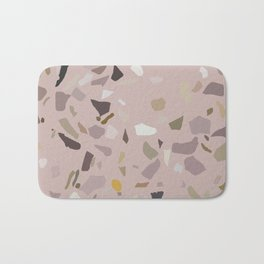 Pink Terrazzo Marble Bath Mat