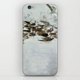 Bird Play iPhone Skin