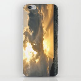 ...And There Was Light iPhone Skin