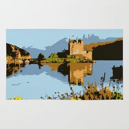Eilean Donan Castle  Rug