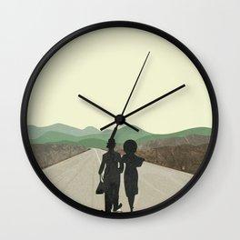 Modern times Wall Clock