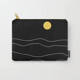 Black Ocean Carry-All Pouch