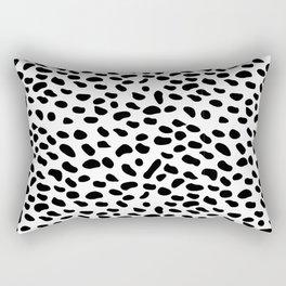 Dalmatian Spots Rectangular Pillow
