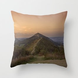 Malvern Hills Throw Pillow