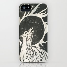 shadow wolf iPhone Case