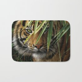 Tiger - Emerald Forest Bath Mat