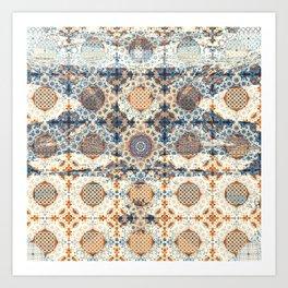 Modern Fractal Abstract 13: Detailism (n+2) Art Print