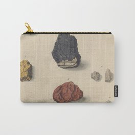 Vintage Minerals Carry-All Pouch
