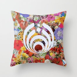 Innerbloom Bass Drop Throw Pillow