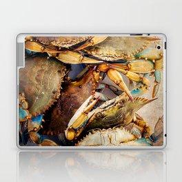 Blue Crabs Laptop & iPad Skin