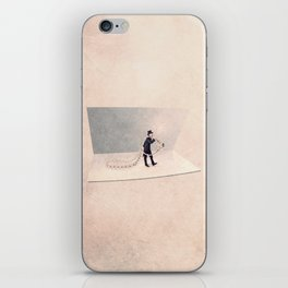 The Jewelry deliverer iPhone Skin