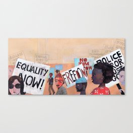 EQUALITY NOW Canvas Print