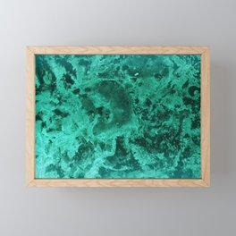 Malachite Dream #1 #gem #decor #art #society6 Framed Mini Art Print