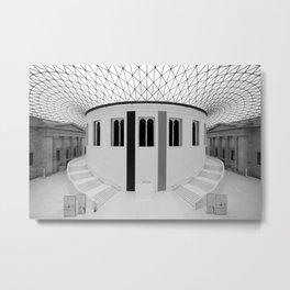 British Museum London Metal Print