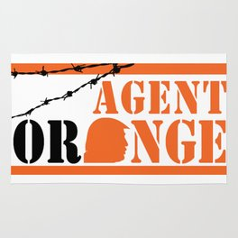 Agent Orange Rug