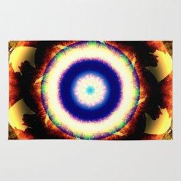 Supernova Mandala Rug