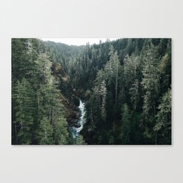 The View From High Steel Canvas Print