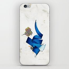 Arabic Calligraphy - Rumi - Journey Into Self iPhone Skin
