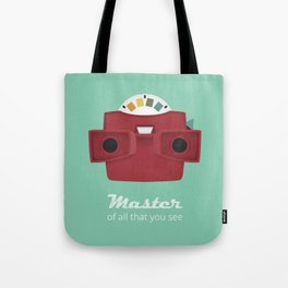 Master of All That You See Tote Bag