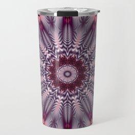 Feathered Mandala Travel Mug