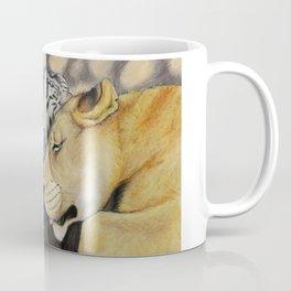 """""""CamBu"""" Cameron Lion & Zabu Tiger Coffee Mug"""