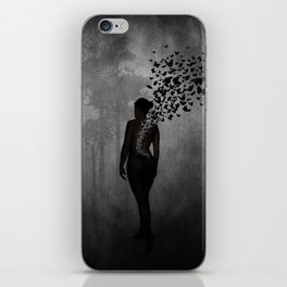 The Butterfly Transformation iPhone Skin
