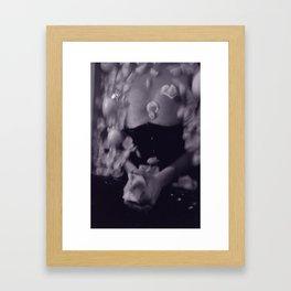 Serge #11 Black and White Ophelia Photo Series Framed Art Print