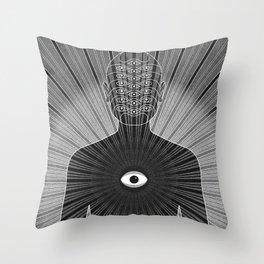 Dissociative Identity Disorder 1 Throw Pillow